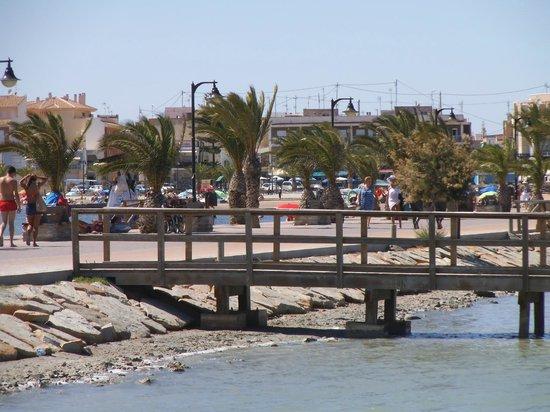 Las Charcas Mud Baths: A mudding jetty