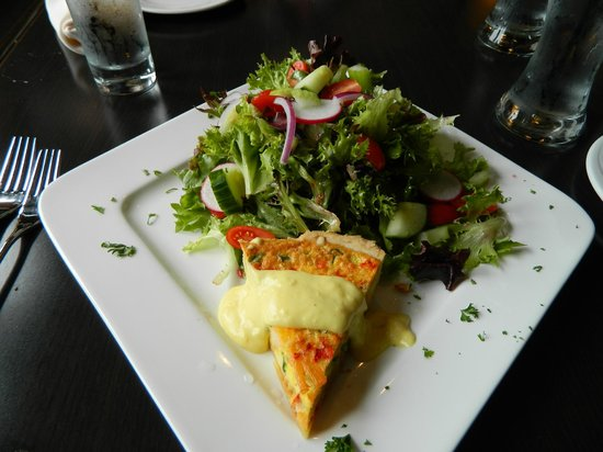 Rissers Social House: Lobster quiche