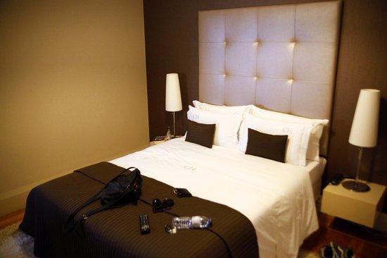 Castilho House: the room