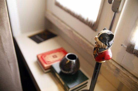 Castilho House: nice details in the room
