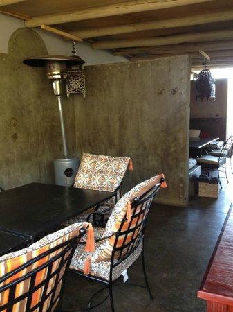 Olive Grove : Terrasse couverte à l'étage