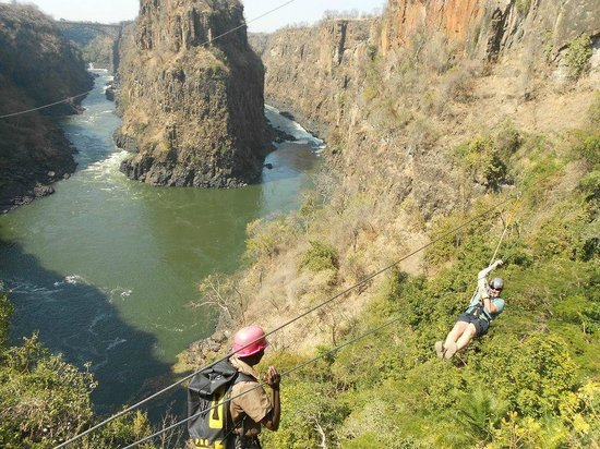 Wild Horizons Vic Falls Canopy Tour: Spectacular views from The Vic Falls Canopy Tour