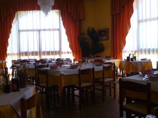 Hotel Ismaele : il salone da pranzo
