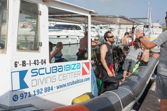 Scuba Ibiza Diving Center: Getting ready