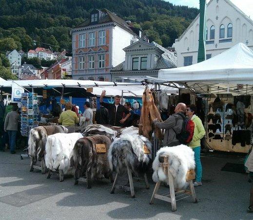 Thon Hotel Bristol Bergen: Bergen market