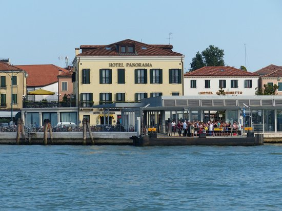 Hotel Panorama : HOTEL FROM THE WATER