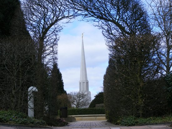Preston England LDS Mormon Temple