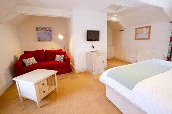 Rashleigh Arms: Bedroom