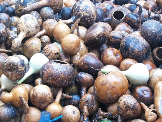 Le Kabbak - Gourd Lamps