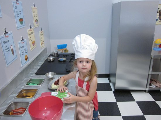 The Children's Museum of Green Bay: The Diner