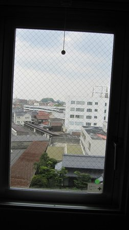 Super Hotel Yonago-ekimae : 眺望は抜けていました