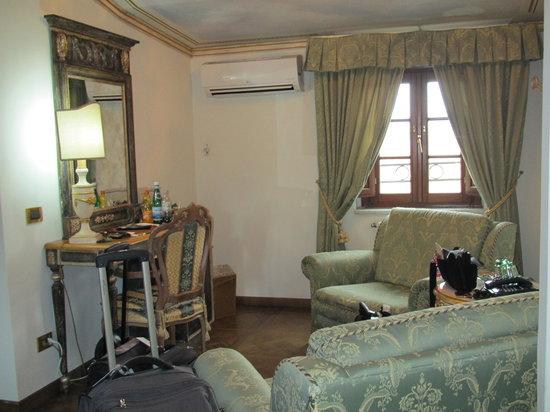 Hotel Palazzo Alexander: Beautiful sitting area