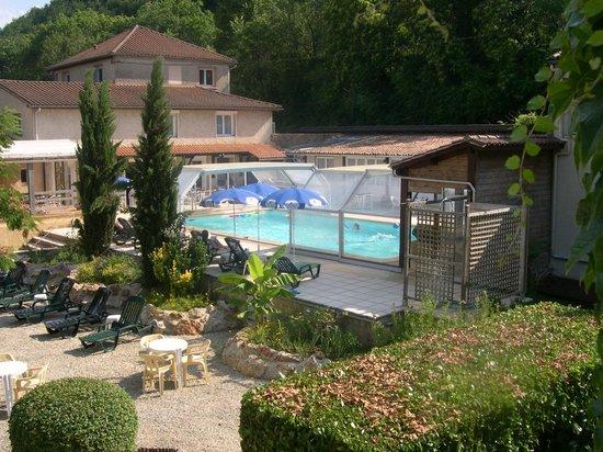Auberge de la Petite-Reine: la piscine