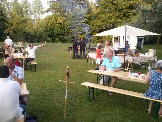 Auberge de la Petite-Reine: soirée barbecue