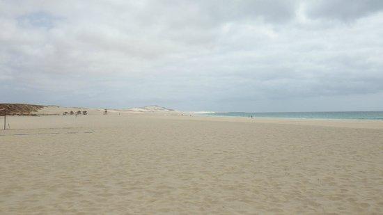 Royal Decameron Boa Vista: vue de la plage de l'hôtel