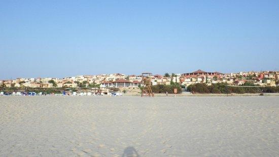 Royal Decameron Boa Vista: Hôtel vu de la plage