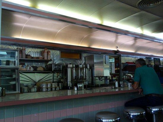 Village Diner: the diner bar