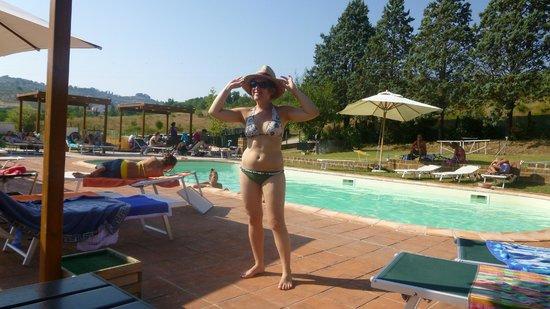 La gufaia carmignano piscina