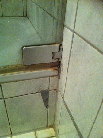 Landgasthof Traube: Dusche
