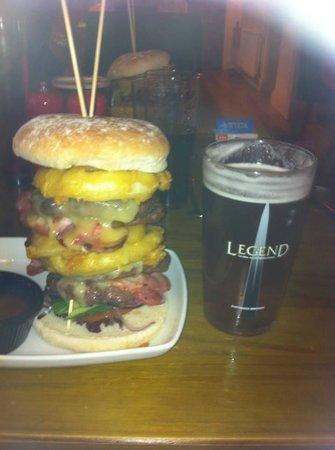 Coach & Horses Inn: The stack !