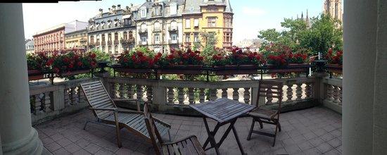 Regent Contades : Balcony