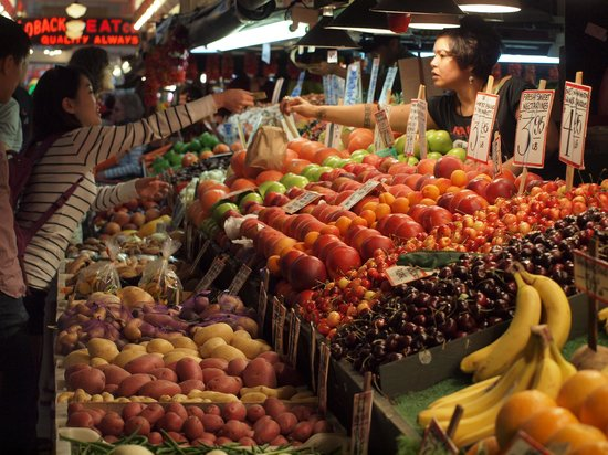 Produce for lunch! - Picture of Pike Place Market, Seattle - TripAdvisor
