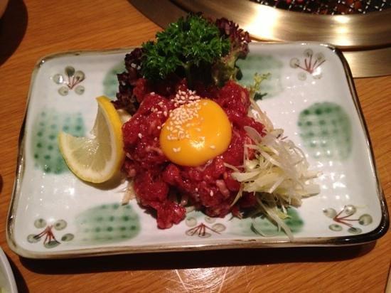 Kanyoen Yakiniku Restaurant: ユッケ