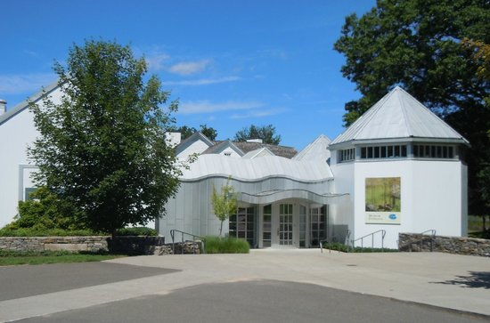 Florence Griswold Museum: The modern museum behind the house