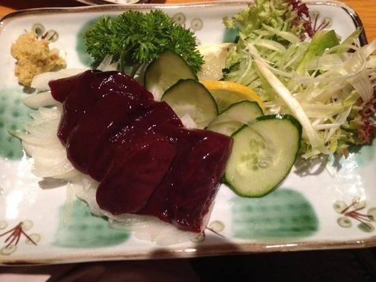 Kanyoen Yakiniku Restaurant: レバー刺