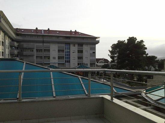 Hotel Magnolia : Вид с балкона