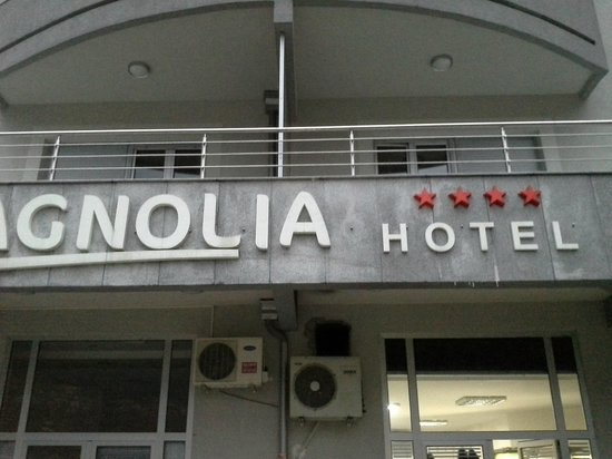 Hotel Magnolia : Фасад