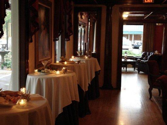 Jefferson Inn : Wedding Set Up