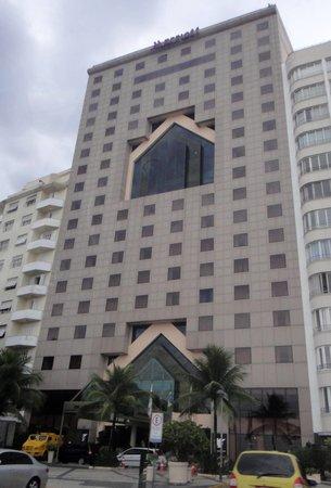 JW Marriott Hotel Rio de Janeiro: the hotel building