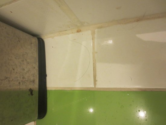 Klassique Sukhumvit: Hair on the bathroom floor when we just came in