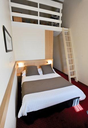 Kyriad Rennes Sud - Chantepie: Chambres triple et quadruple