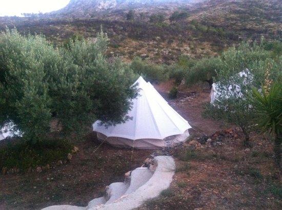 Yoga Holidays Spain - Casa de Carrasco: Safari Tent
