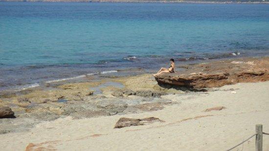 playa de Migjorn nei pressi del Talaya