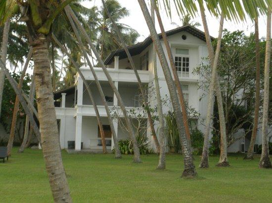 Paradise Road The Villa Bentota: ホテル、庭から見た部屋