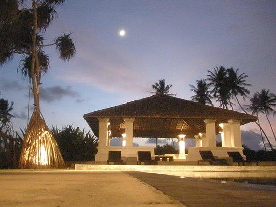 Paradise Road The Villa Bentota: 夜、プールからの眺め