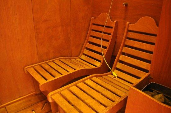 sauna e bagno turco - Picture of Villa Ricci Hotel, Chianciano Terme ...
