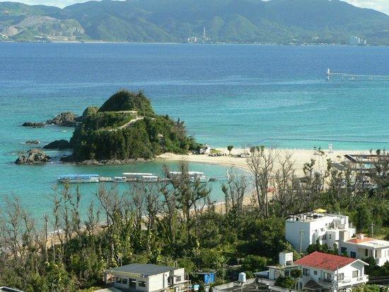 Okinawa Kariyushi Beach Resort Ocean Spa The Small And Expensive A Free Bus