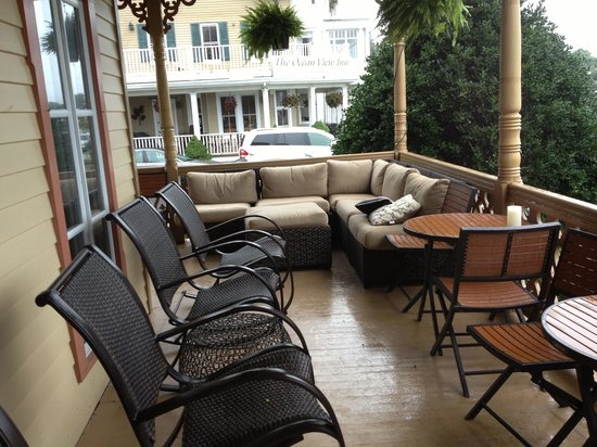 The Ocean Plaza: Front Porch