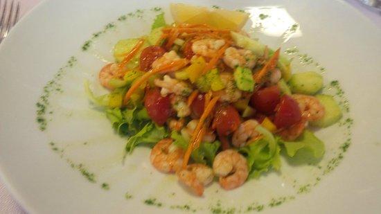 Ristorante Forte del 48: antipasto : insalata di mare alla buranea
