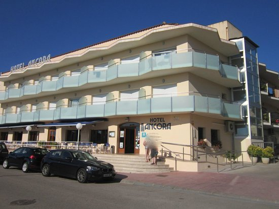 Front of the Hotel Ancora