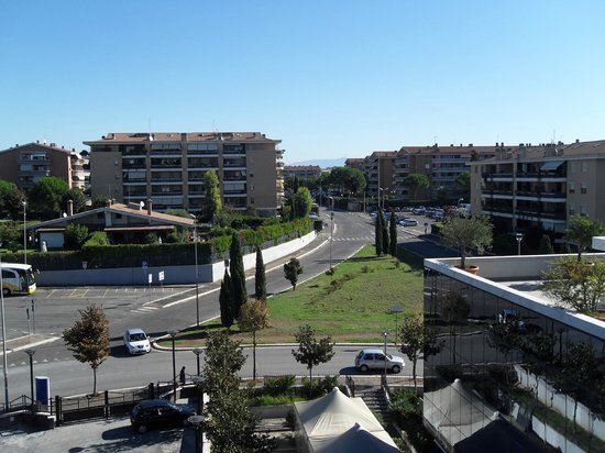 Bellambriana Hotel : Вид из окна