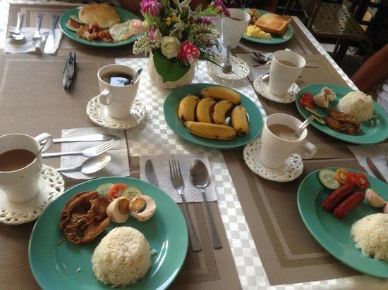 Balaibinda Lodge : Set breakfast