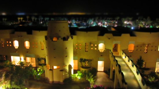 The Bay View Resort Taba Heights : View from room towards Saudi