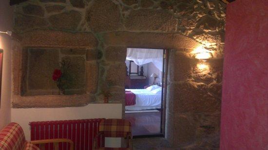 Aldea Bordons: Vista de la habitación desde la entrada de la casa