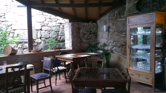 Aldea Bordons: Vista del comedor