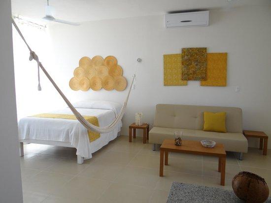 Amplios studios con hamaca y sofa cama muy espaciosos picture of la casa del mar puerto - La casa del sofa cama ...